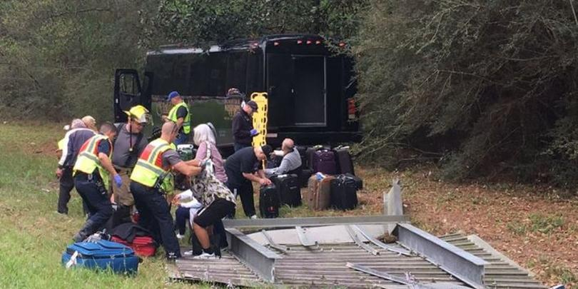 26 Injured in Charter Bus Accident Near LA-MS Stateline
