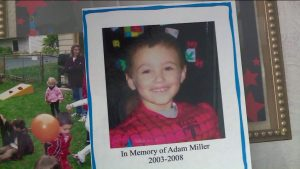 Adam Miller, boy killed due to distracted driving car accident